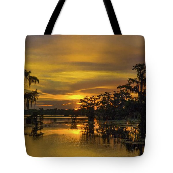 Cajun Gold Tote Bag