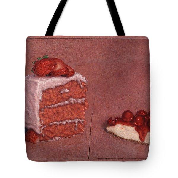 Cakefrontation Tote Bag