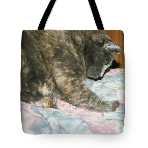Tote Bag featuring the photograph Cal-1 by Ellen Lentsch
