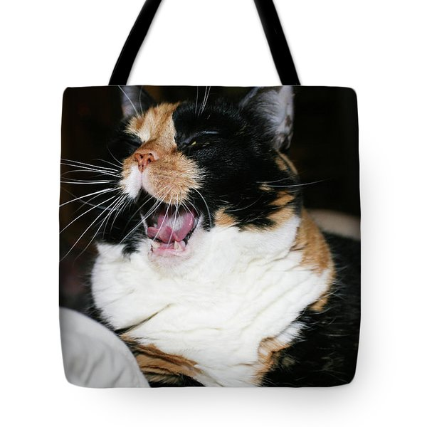 Tote Bag featuring the photograph Cal-3 by Ellen Lentsch