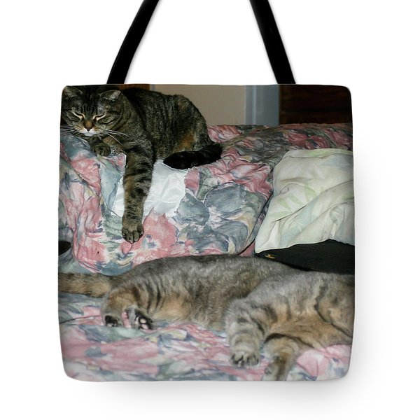 Tote Bag featuring the photograph Cal-4 by Ellen Lentsch