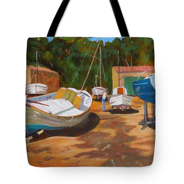 Cala Figuera Boatyard - I Tote Bag