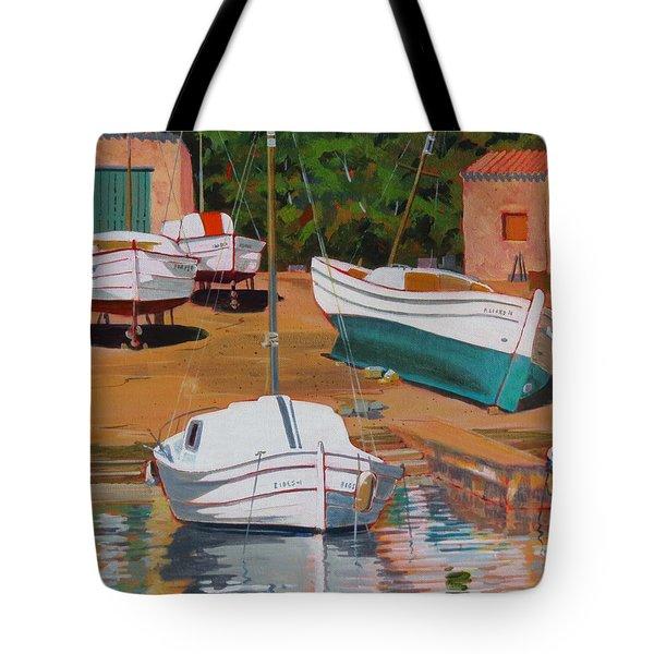 Cala Figuera Boatyard - II Tote Bag