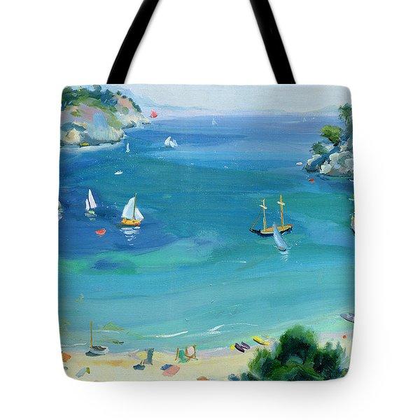 Cala Galdana - Minorca Tote Bag by Anne Durham