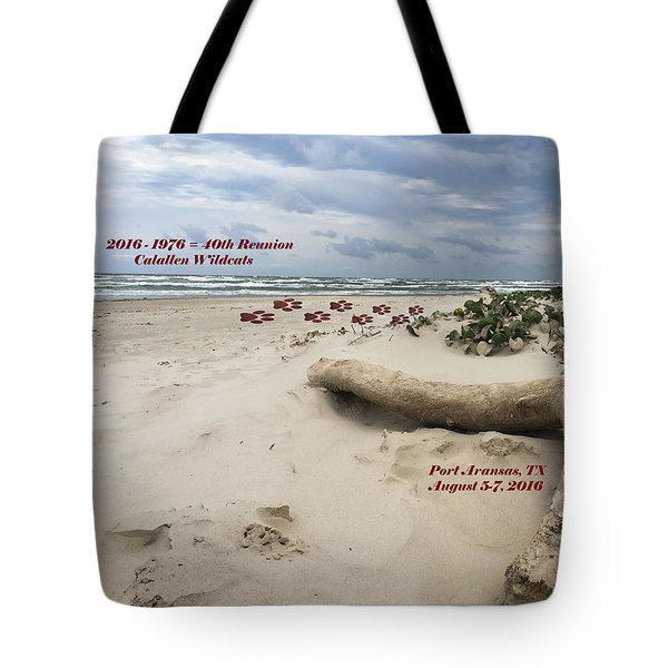 Calallen 40th Reunion - D Tote Bag