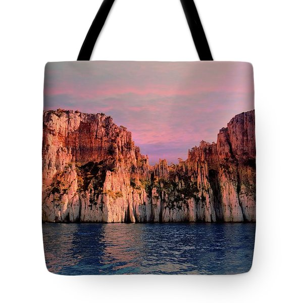 Calanques De Marseille .  Tote Bag