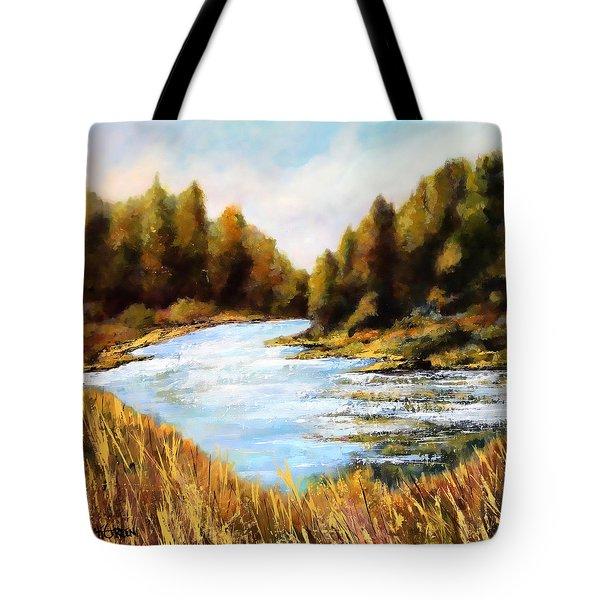 Calapooia River Tote Bag