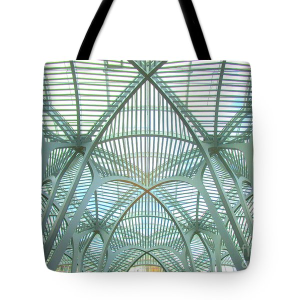 Calatrava In Toronto 10 Tote Bag by Randall Weidner