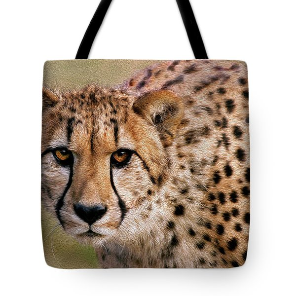 Calculated Look Tote Bag