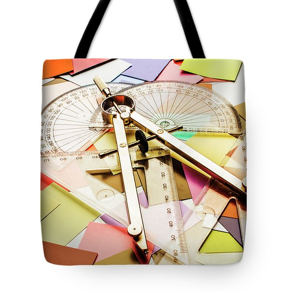 Calculating Infinity Tote Bag