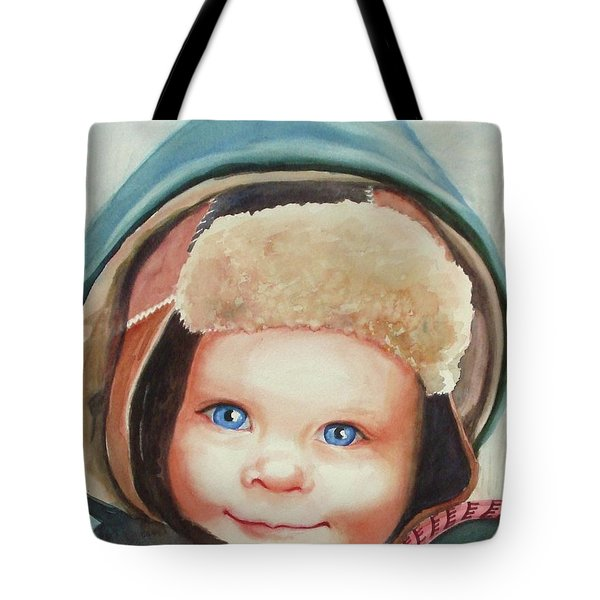 Caleb Tote Bag by Marilyn Jacobson