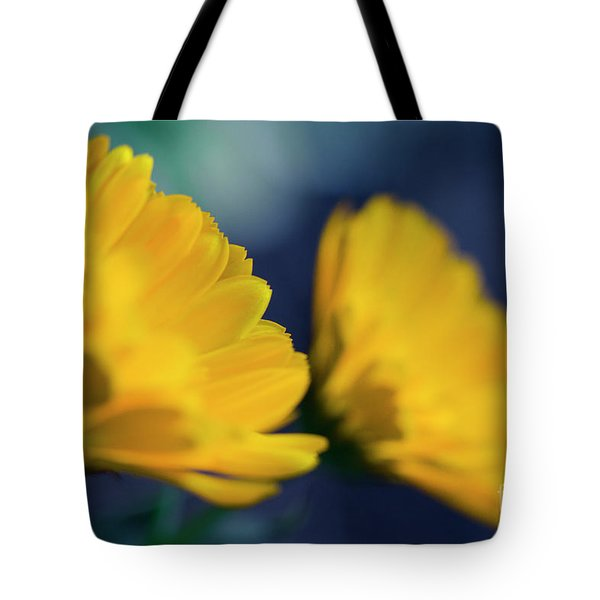 Tote Bag featuring the photograph Calendula Flowers by Sharon Mau