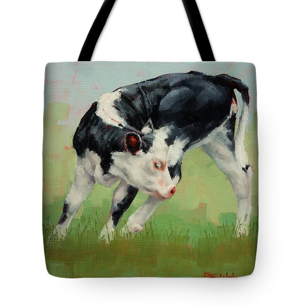 Calf Contortions Tote Bag by Margaret Stockdale
