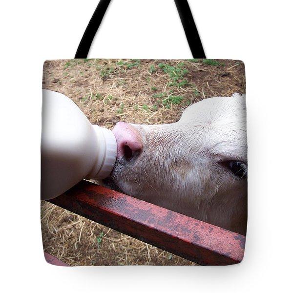 Calf Tote Bag