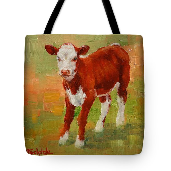 Calf Miniature Tote Bag by Margaret Stockdale