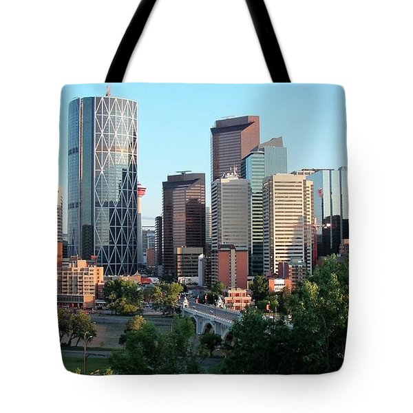 Calgary 2 Tote Bag by Victor K