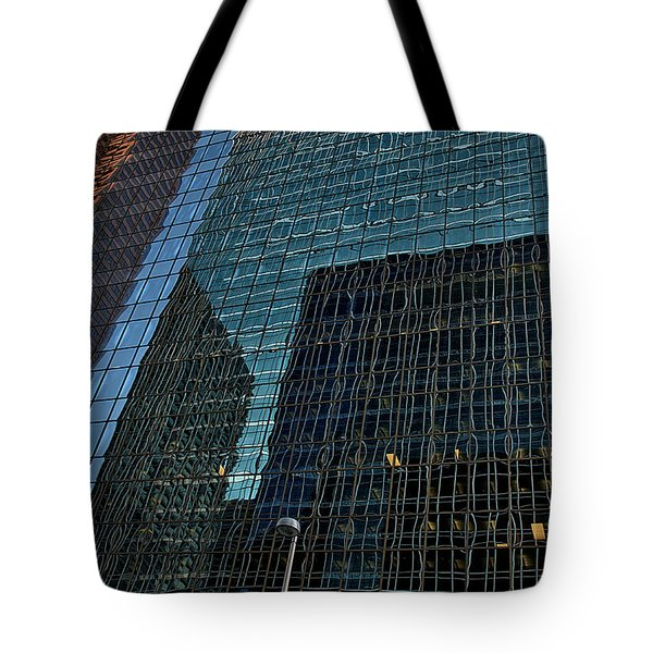 Calgary 8 Tote Bag by Steven Richman