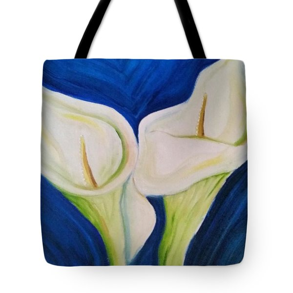 Cali Lily Strong Tote Bag by Carol Duarte