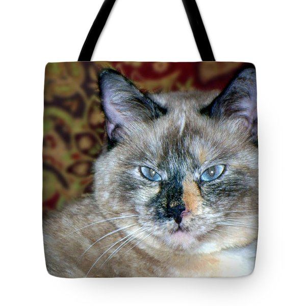 Tote Bag featuring the photograph Cali-mese by Betty Northcutt