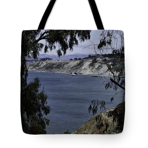 Tote Bag featuring the photograph Cali Shore by Judy Wolinsky