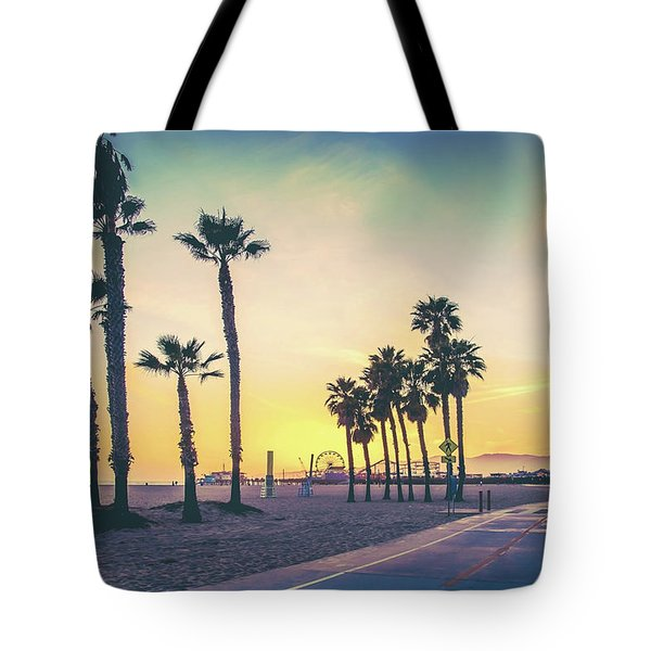 Tote Bag featuring the photograph Cali Sunset by Az Jackson