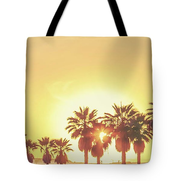Tote Bag featuring the photograph Cali Vibes by Az Jackson