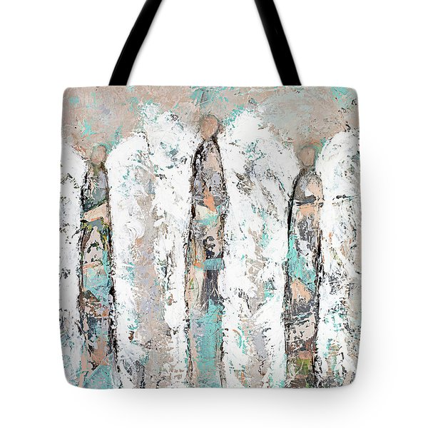 Calico Angel Trio Tote Bag by Kirsten Reed