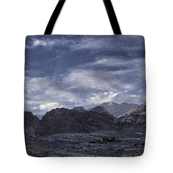 Calico Basin Panorama Tote Bag