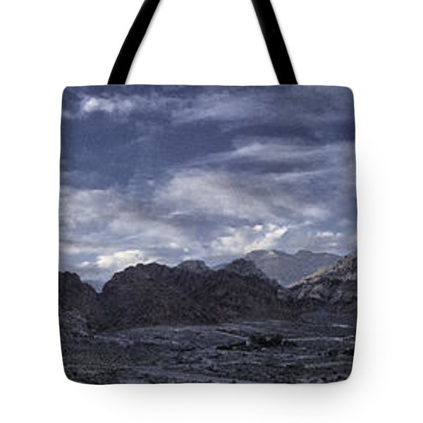 Calico Basin Panorama Tote Bag