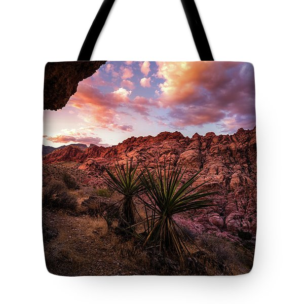 Calico Sunset Tote Bag