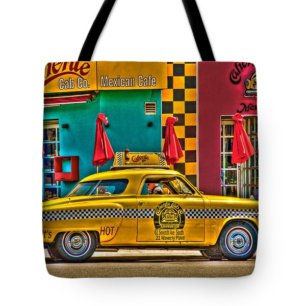 Caliente Cab Co Tote Bag