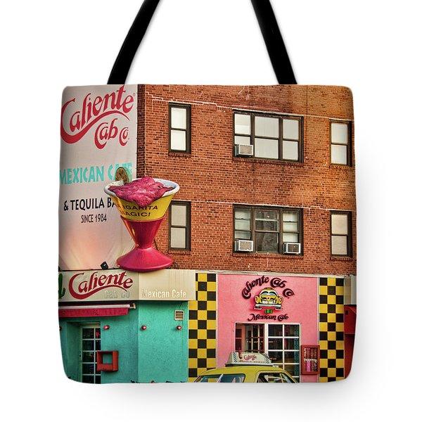 Caliente Cab Tote Bag