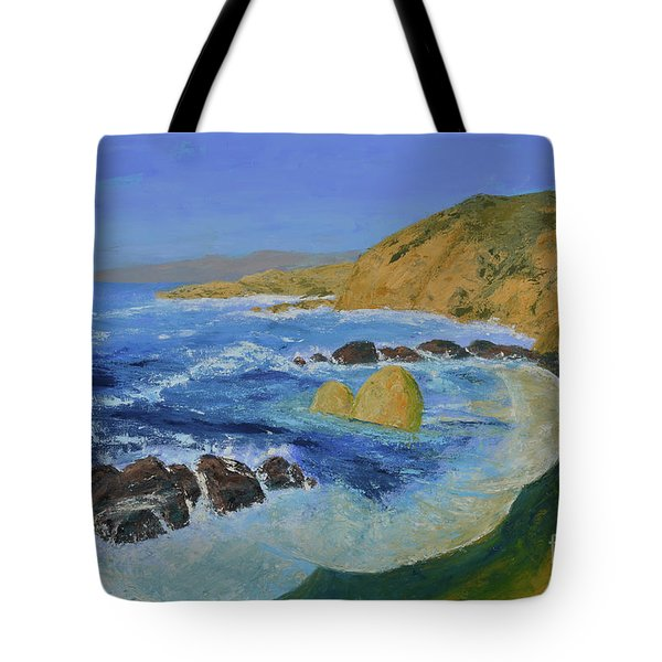 Calif. Coast Tote Bag