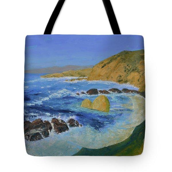 Calif. Coast Tote Bag
