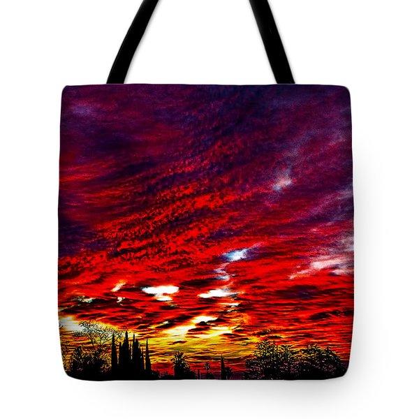 Sunrise In Los Angeles Tote Bag