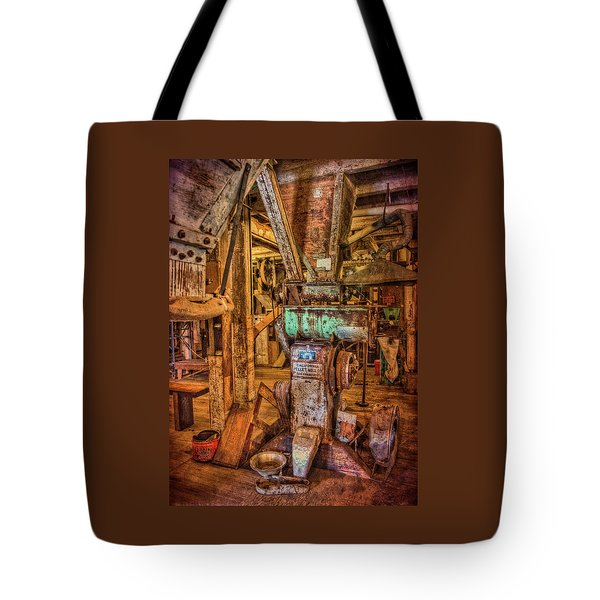 California Pellet Mill Co Tote Bag