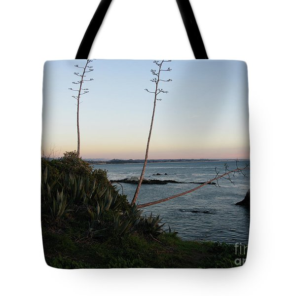 California At Twilight Tote Bag by Mini Arora