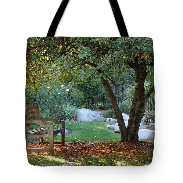 California Autumn Tote Bag by Jan Cipolla