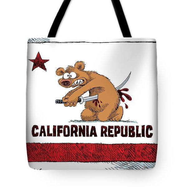 California Budget Harakiri Tote Bag