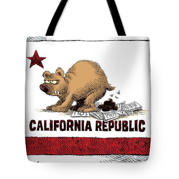 California Budget Iou Tote Bag