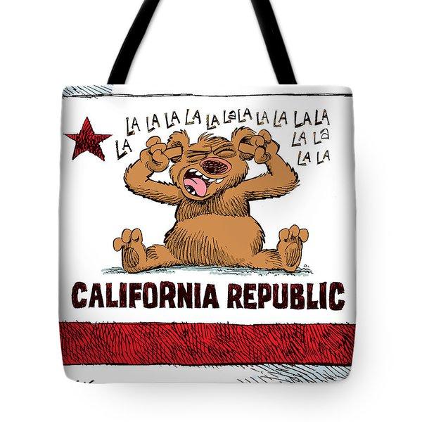 California Budget La La La Tote Bag
