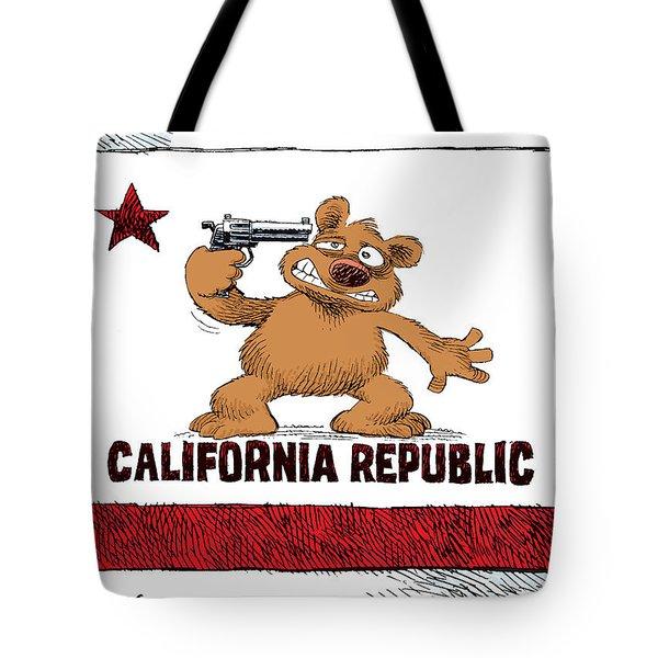 California Budget Suicide Tote Bag