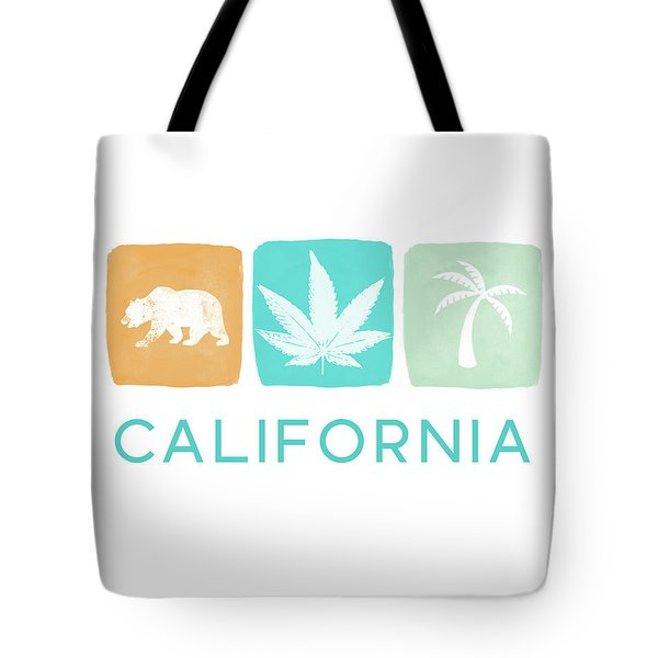 California Cannabis- Art By Linda Woods Tote Bag