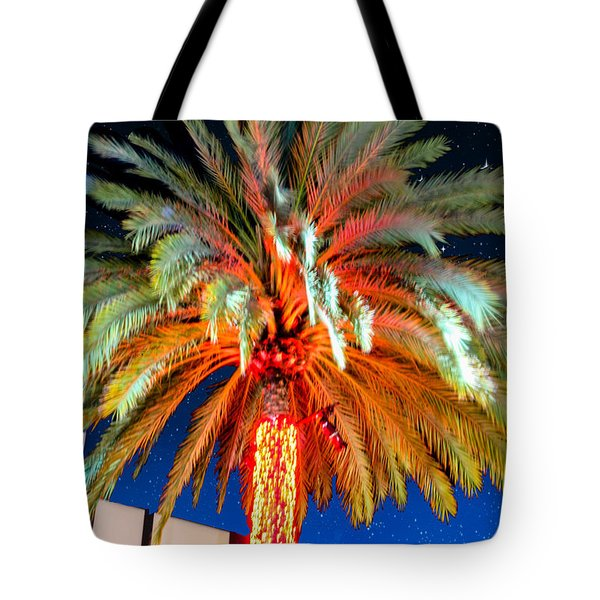 Tote Bag featuring the photograph California Christmas Tree by Robert Hebert