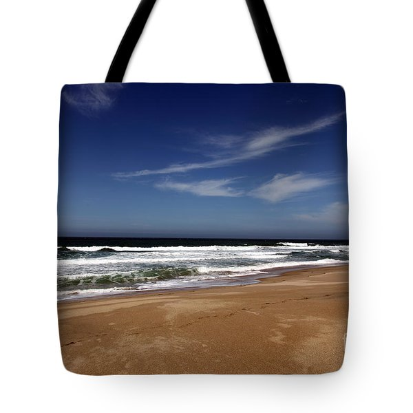 California Coast Tote Bag by Amanda Barcon