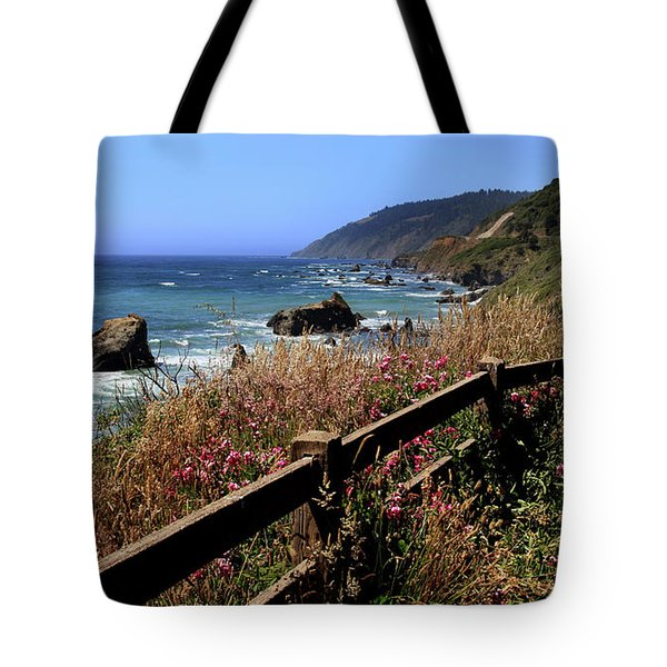 Tote Bag featuring the photograph California Coast by Joseph G Holland
