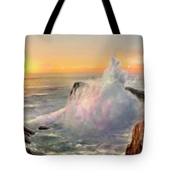 California Coast Tote Bag by Michael Rock