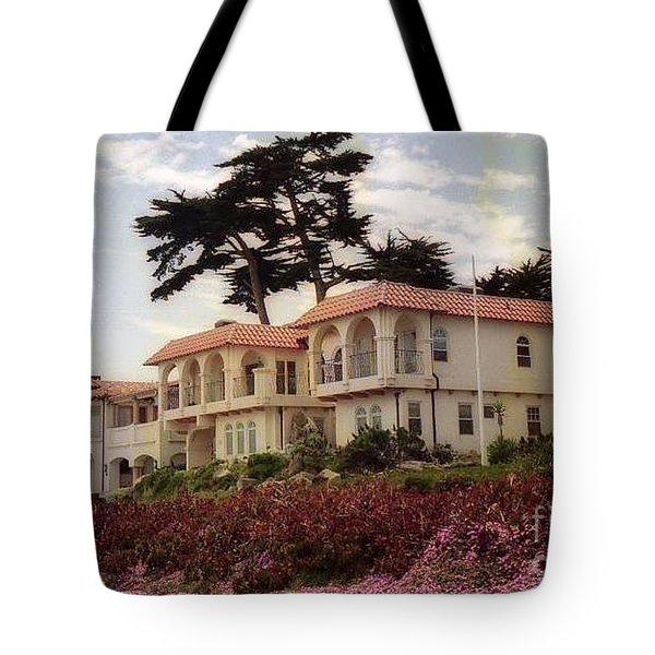 California Coastal Hotel Tote Bag