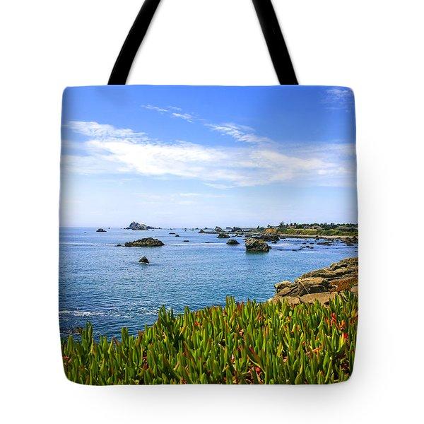 California Coastal Summer Tote Bag