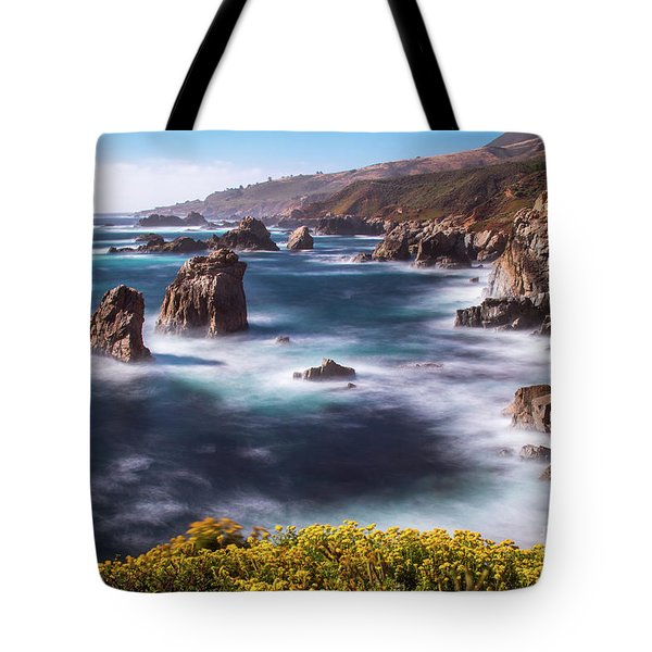 Tote Bag featuring the photograph California Coastline  by Vincent Bonafede